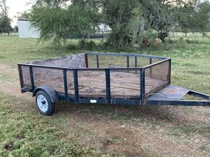 8' x 6' utility trailer for Sale in Richmond, TX