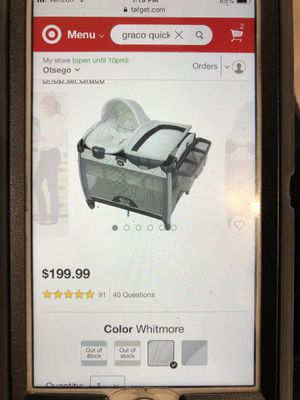 Grace quick connect bassinet Asher for Sale in Elk River, MN