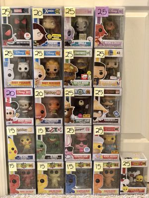 FUNKO POPS FOR SALE. for Sale in San Francisco, CA