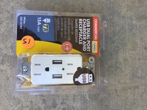 USB dual port new for Sale in Ontario, CA