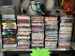 DVD player & 150+ DVDs! Perfect for quarantine! for Sale in San Diego, CA