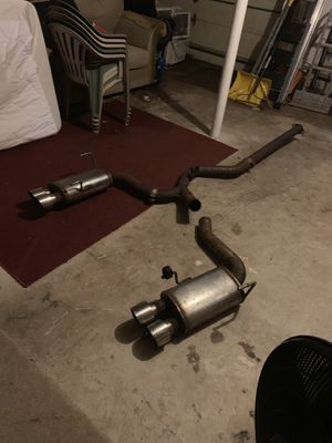 Magnaflow non-resonated exhaust 08/14 Wrx/sti Sedan for Sale in Wayland, MA
