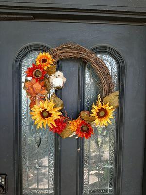 Half Owl fall wreath for Sale in Garland, TX