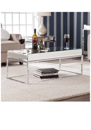 Upton Home mirrored coffee table for Sale in New York, NY