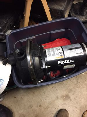 Sprinkler pump 1 1/2 hp it does not work well priced to sell for Sale in Waterford Township, MI