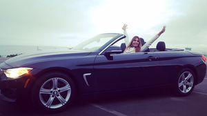 2014 BMW 4 series 428i Convertible 2D Black for Sale in Santa Monica, CA