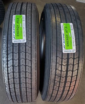 295 75 22.5 COMMERCIAL TRAILER TIRES for Sale in Rancho Cucamonga, CA