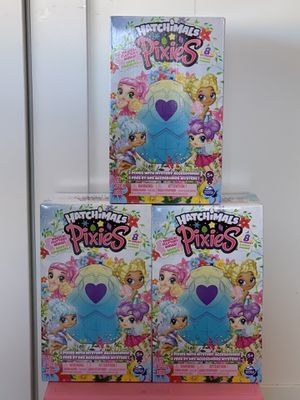 Hatchimals Pixies 2-Pack, 2.5-inch Collectible Dolls- Brand New! All 3 for $25 for Sale in Westminster, CA