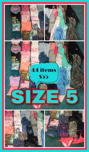Girls Clothing Size 5 - 44 items for Sale in Henderson, NV