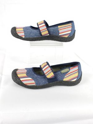 Keen Harvest Womens Multi Color Striped Denim Mary Jane Shoes Size 6 #1010229 for Sale in Chicago, IL