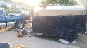 """Trailer homemade axle 80"""" nice spacious great shape I also have 2 more trailers for sale for Sale in Pacheco, CA"""