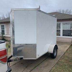 5x8 Enclosed Trailer for Sale in Dallas, TX