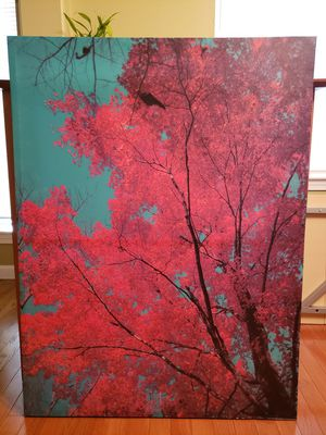 Beautiful red tree canvas print for Sale in Puyallup, WA
