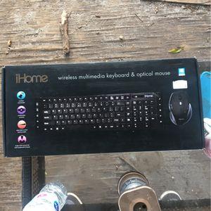 Ihome Wireless Keyboard & Opital mouse for Sale in Miami, FL