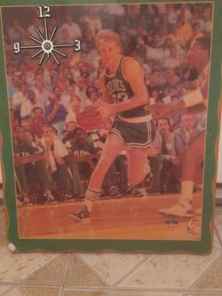 Larry Bird Vintage Nba Clock for Sale in Los Angeles,  CA