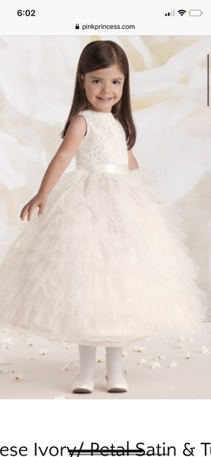 Joan Calabrese Style 115326 Flower-Girl Dress Size 4 for Sale in Haworth, NJ