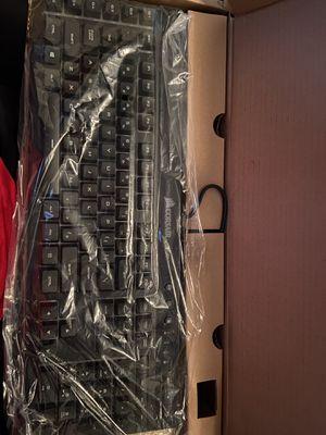 Corsiar k55 rgb keyboard gaming for Sale in Saginaw, MI