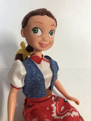 Disney Pixar Toy Story Jessie Cowgirl Doll Rare Red Boots Skirt Denim Vest Rare for Sale in Alhambra, CA