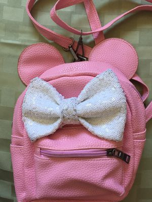 Disney pink mini backpack for Sale in Anaheim, CA