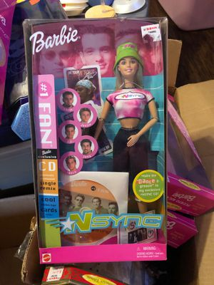 NSync Barbie collector's doll for Sale in San Antonio, TX