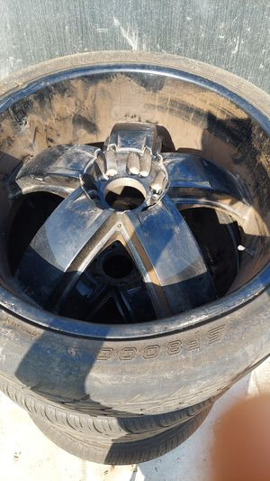 """24"""" rims/wheels for Sale in South Gate, CA"""