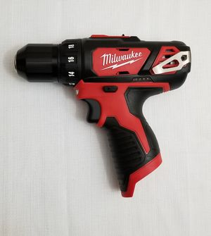 Milwaukee M12 12-Volt Lithium-Ion Cordless 3/8 in. Drill/Driver (Tool-Only) for Sale in Spring, TX