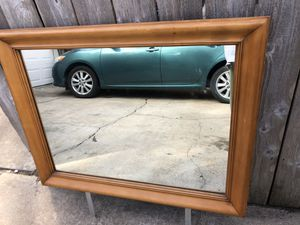 Mirror for dresser /mounts attached for Sale in Katy, TX