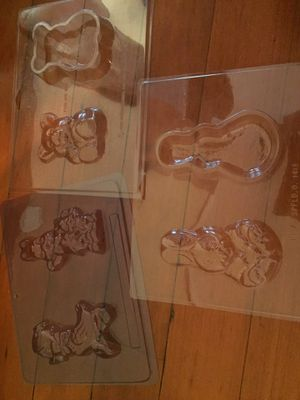 Rabbit duck chocolate molds for Sale in Puyallup, WA