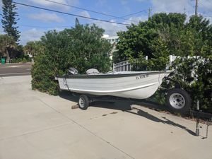 14ft. Aluminum StarCraft with 25hp. Yamaha + trailer (w/ spare) for Sale in Winter Park, FL