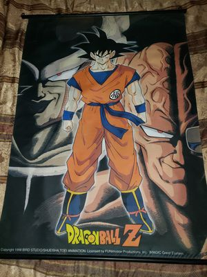 42x31 Dragonball Z 1998 Wall scroll poster for Sale in Whittier, CA