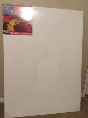 Large canvas 36in x 48in artist loft canvas for Sale in Beaumont, TX
