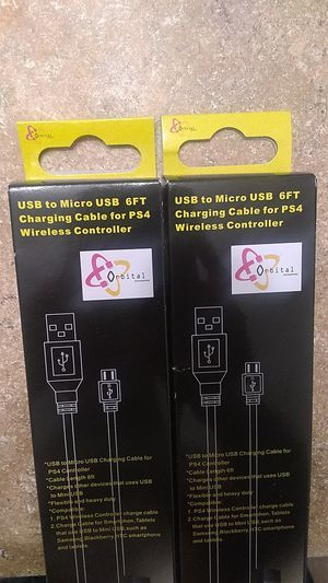 PS4 chargers!! for Sale in Long Beach, CA