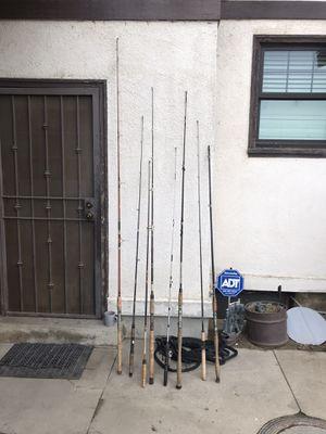 Fishing rods for Sale in Kerman, CA