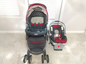 Car seat with base and stroller for Sale in Morrisville, NC