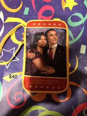 Mr. & Mrs. Obama Wristlet for Sale in Detroit, MI