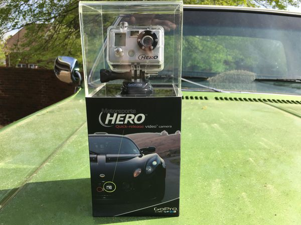 GoPro original. BRAND NEW, never opened or used.