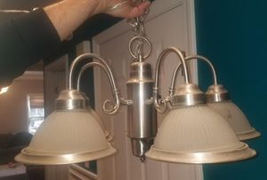 Dining chandelier for Sale in West Boylston, MA