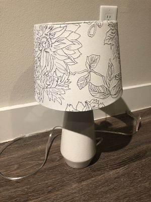 Cute bed side lamp shade for Sale in Nashville, TN