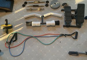 Assorted gym equipment! for Sale in Holly Springs, NC