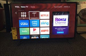 "32"" TCL ROKU SMART TV for Sale in Hallandale Beach, FL"