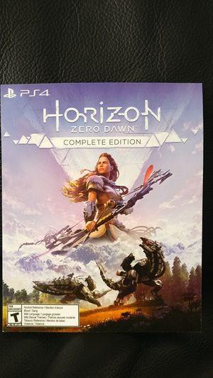 PS4 Horizon Zero Dawn complete edition digital code for Sale in Redmond, WA