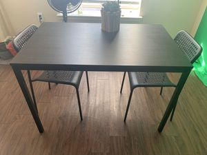 Black Kitchen Table w/ Chairs for Sale in Houston, TX