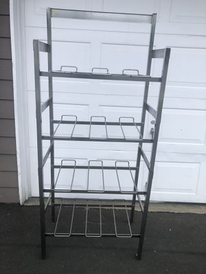 """Stainless steel shelf 4 Layers ... asking for $21 cash only.. you can use it for or in your Kitchen or in your garage... 57"""" high.. 28"""" width and 1 for Sale in Edmonds, WA"""