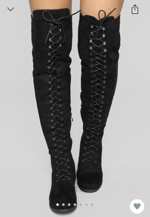 Fashion nova over the knee boots for Sale in Clarksville, TN