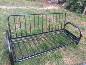 Used futon / sleeper and very good condition, with quality used sleeping mattress for Sale in Largo, FL