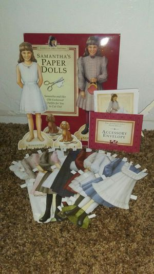 American girl Samantha paper doll for Sale in Oklahoma City, OK