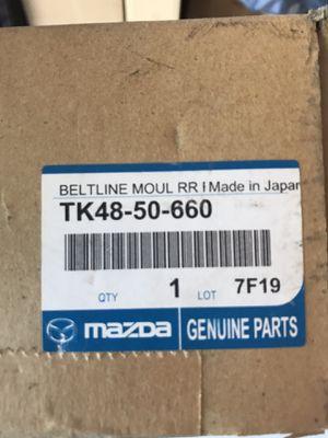 mazda tk48-50-660 belt molding for Sale in Plano, TX