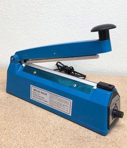 "(NEW) $20 each 8"" Heat Sealing Impulse Manual Sealer Machine Poly Tubing Plastic Bag Teflon for Sale in El Monte,  CA"