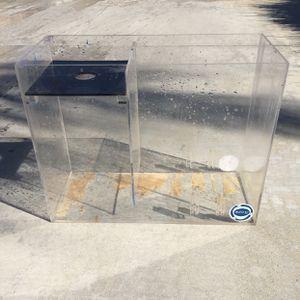 Acrylic Sump Filter For Fish Tank Aquarium for Sale in Fontana, CA