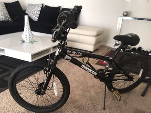 Brand new mongoose bmx bike only used 3x for Sale in Laurel, MD